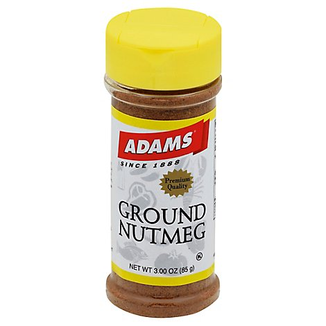 Adams Nutmeg Ground - 3 Oz