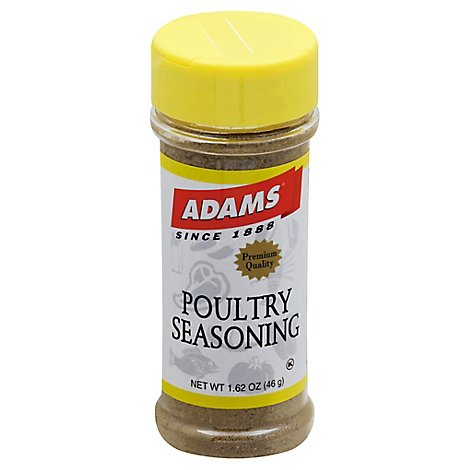 Adams Seasoning Poultry - 1.62 Oz