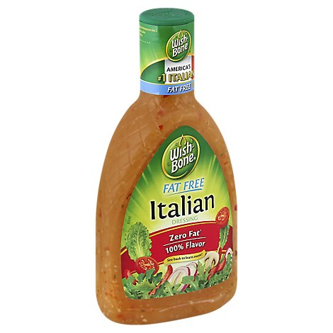 Wish-Bone Fat Free Dressing Italian - 24 Fl. Oz.