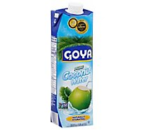 Goya Coconut Water 100% Pure Brick - 33.8 Fl. Oz.