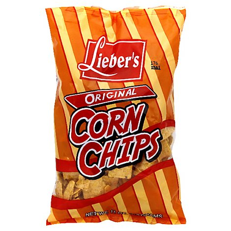Liebers Corn Chips - 11 Oz