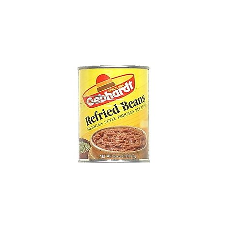 Gebhardt Beans Refried Mexican Style Can - 16 Oz