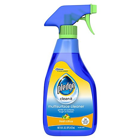Pledge Multisurface Cleaner Trigger Fresh Citrus 16 fl oz