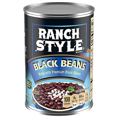 Ranch Style Beans Black - 15 Oz