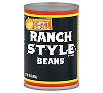 Ranch Style Beans With Chopped Sweet Onions - 15 Oz