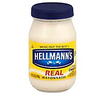Hellmanns Mayonnaise Real - 8 Oz