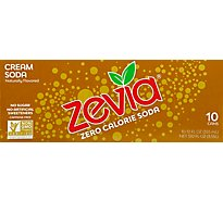 Zevia Cream Soda Can - 10-12 Fl. Oz.