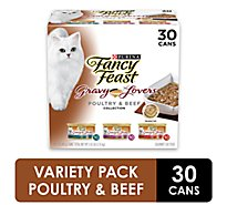 Fancy Feast Cat Food Wet Gravy Lovers Turkey In Roasted Turkey Gravy - 30-3 Oz