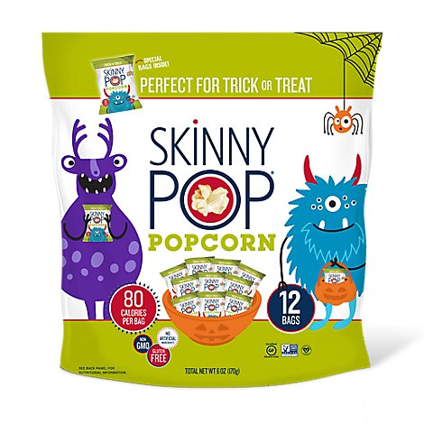 SkinnyPop Popcorn Perfect For Trick or Treat - 6 Oz