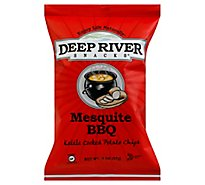 Deep River Snacks Mesquite Bbq Kettle Cooked Potato Chips - 2 Oz