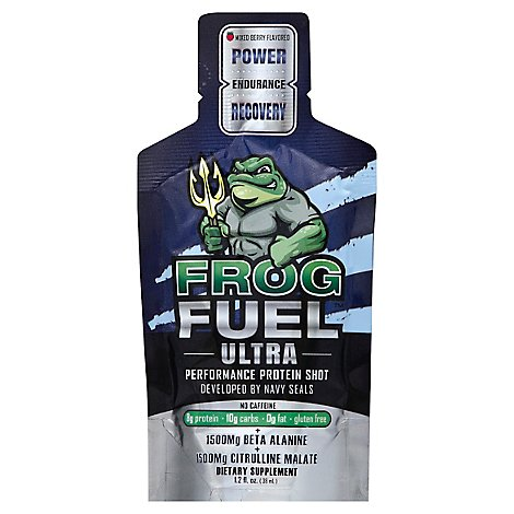 Frogfuel Ultra Regular Liquid Protein. Developed By Us Navy Seals - 1.2 Oz