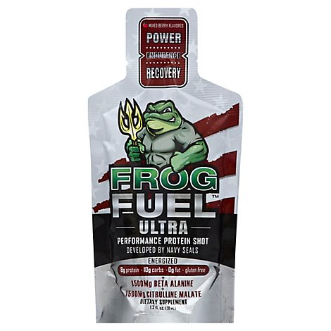 Frogfuel Ultra Energized Liquid Protein. Developed By Us Navy Seals - 1.2 Oz