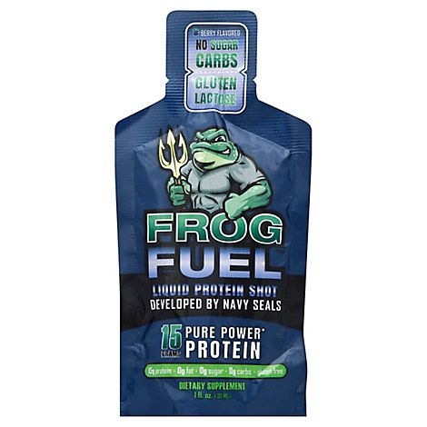 Frogfuel Original Regular Liquid Protein. Developed By Us Navy Seals - 1 Oz