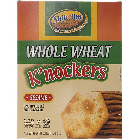 Shibolim Knockers  W W Sesame - 6 Oz