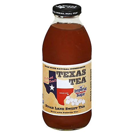 TEXAS TEA Sweet Tea Sugar Land - 16 Fl. Oz.