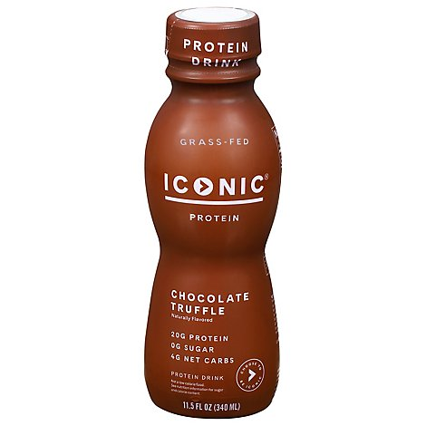 ICONIC Protein Drink Chocolate Truffle - 11.5 Fl. Oz.