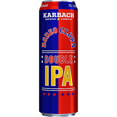 Karbach Rodeo Clown Double Ipa In Cans - 19.2 Fl. Oz.
