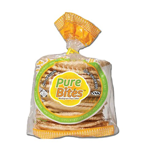 Pure Bites Kedem Multi Grain Pop Cakes - 2.64 Oz