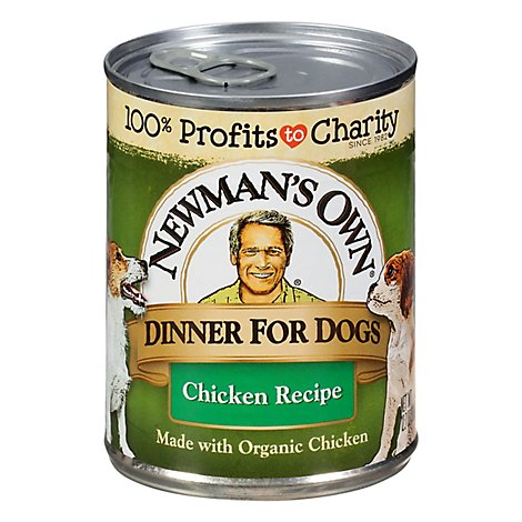 Newmans Own Dinner For Dogs Chicken Recipe - 12.7 Oz