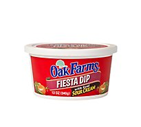 Oak Farms Fiesta Dip With Real Sour Cream - 12 Oz