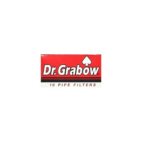 Dr Grabow Pipe Filters - 10 Count