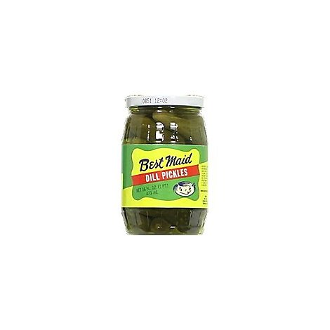 Best Maid Pickles Dill - 16 Fl. Oz.