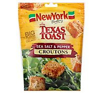New York The Original Texas Toast Croutons Sea Salt & Pepper - 5 Oz