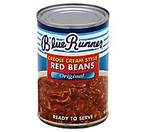 Blue Runner Red Beans Creole Cream Style Original - 16 Oz