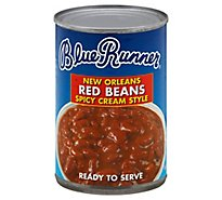 Blue Runner Red Beans Spicy Cream Style New Orleans - 16 Oz