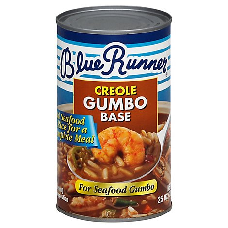 Blue Runner Gumbo Base Creole - 25 Oz