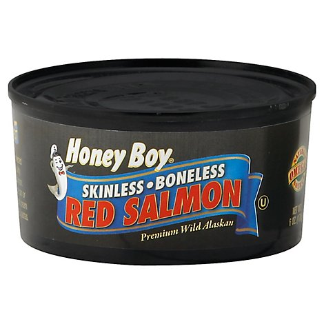 Honey Boy Salmon Red Skinless Boneless - 6 Oz