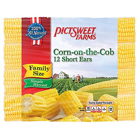 Pictsweet Farms Corn On The Cob Simple Harverst - 12 Count