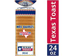 Mrs Bairds Bread Texas Toast White - 24 Oz