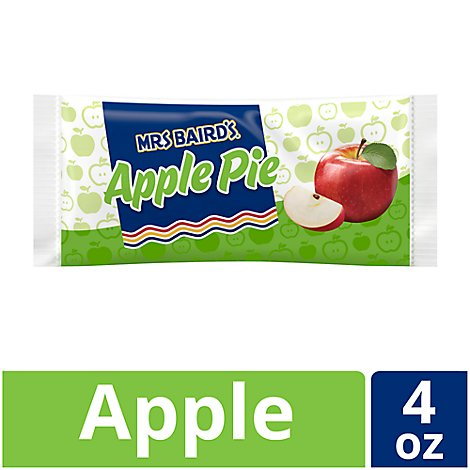 Mrs Bairds Pie Single Serve Apple - 4 Oz