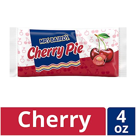 Mrs Bairds Pie Single Serve Cherry - 4 Oz