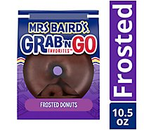 Mrs Bairds Grab n Go Favorites Donuts Frosted - 10.5 Oz