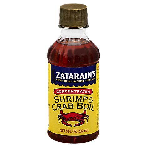 Zatarains Shrimp & Crab Boil Concentrated - 8 Fl. Oz.