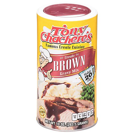 Tony Chacheres Mix Creole Brown Gravy - 10 Oz