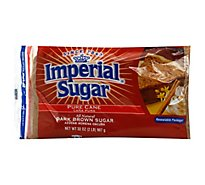 Imperial Sugar Pure Cane Dark Brown - 32 Oz