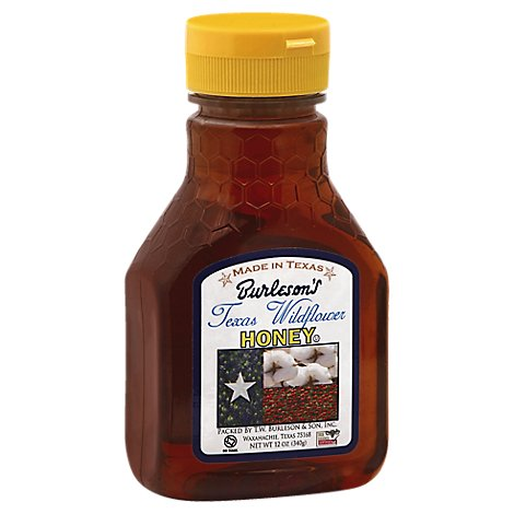 Burlesons Honey Texas Wildflower - 12 Oz