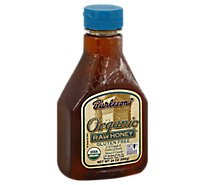 Burlesons Honey Organic Raw - 24 Oz