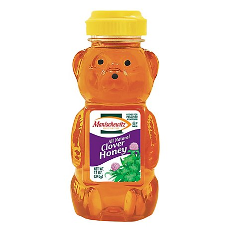 Manischewitz Honey Clover Bear Squeeze - 12 Oz