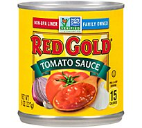 Red Gold Tomato Sauce 100% Natural - 8 Oz