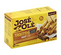 Jose Ole Beef Corn Taquitos - 56 Oz
