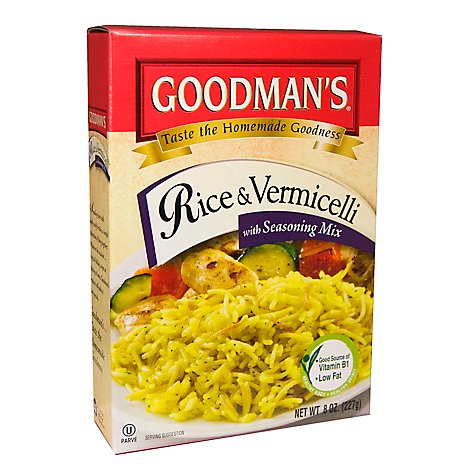 Goodman Rice And Vermicelli W Season Mx - 8 Oz