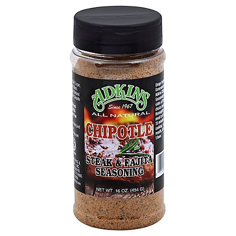 Adkins Seasoning Chipotle Steak & Fajita - 16 Oz