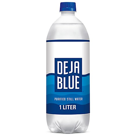 Deja Blue Drinking Water Purified - 1 Liter