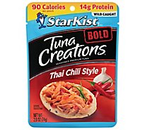 StarKist Tuna Creations Bold Tuna Chunk Light Thai Chili Style - 2.6 Oz