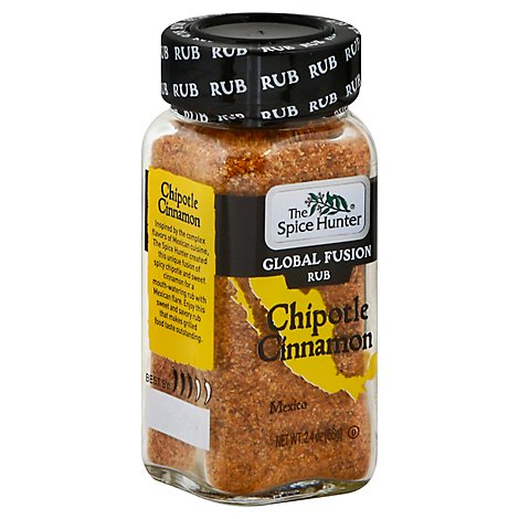 The Spice Hunter Rub Global Fusion Chipotle Cinnamon - 2.4 Oz