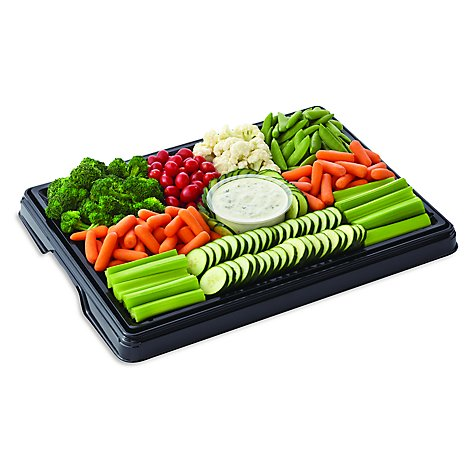 Vegetable Tray Large Prepacked - Each